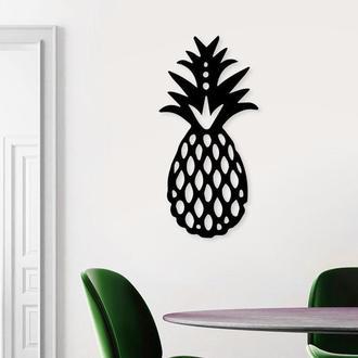 Деревянная картина Pineapple