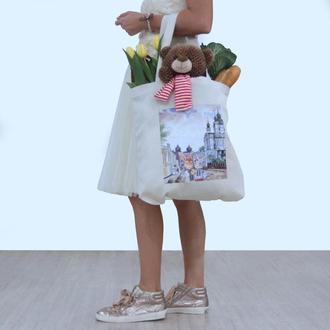 "Эко-сумка «love kyiv"""