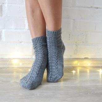 Вязаные носки, шерстяные теплые носки для фотосессии НА ЗАКАЗ