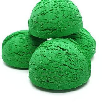 """Твердая пенка для ванны  """"Зеленое яблоко"""" (4 шт)"""
