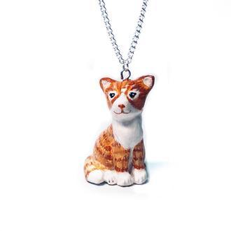 Фигурка-подвеска Рыжий котенок