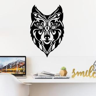 Деревянная картина Wolf2