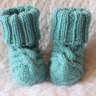Мериносовые носочки для малышей