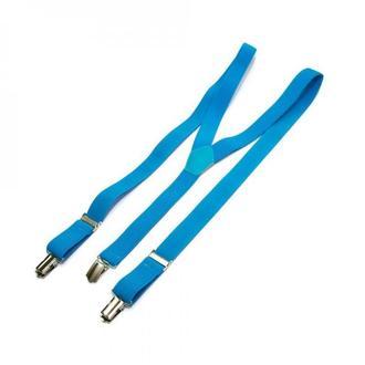 Вузькі блакитні підтяжки Y подібні, Узкие голубые подтяжки Y образные