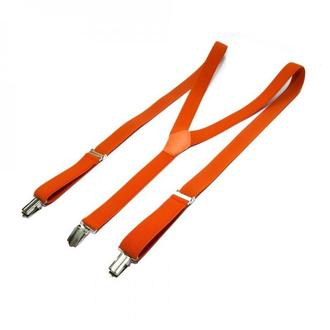 Вузькі помаранчеві підтяжки Y подібні, Узкие оранжевые подтяжки Y образные