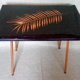 Журнальный столик ′Золотая пальмовая ветвь