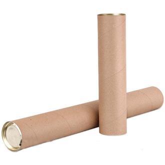 Картонный тубус 350х76 мм