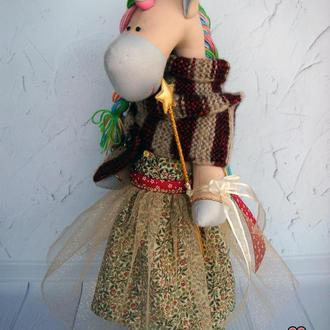 Волшебный Единорог, текстильная игрушка