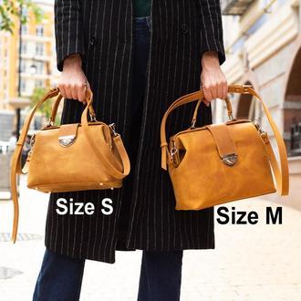 Кожаная сумка-саквояж Фэйт НОВИНКА от мастерской Author | 1_0109_FTH