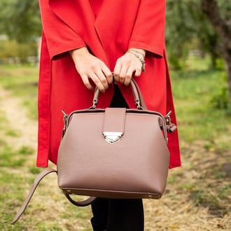 Кожаная сумка-саквояж Фэйт из итальянской кожи
