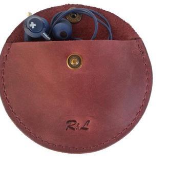 Бордовый чехол для наушников х35 (10 цветов)