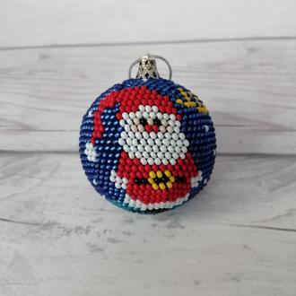 """Новогодний шар на ёлку """"Дед мороз"""""""
