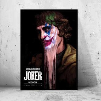 """Постер на ПВХ 3 мм. в раме """"Joker"""" 2019 (Джокер: Хоакин Феникс/Joaquin Phoenix) #7"""