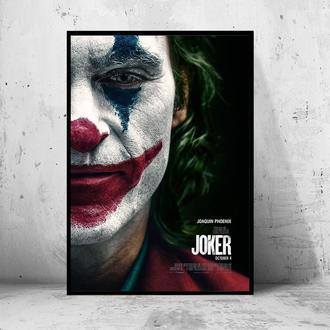 """Постер на ПВХ 3 мм. в раме """"Joker"""" 2019 (Джокер: Хоакин Феникс/Joaquin Phoenix) #8"""