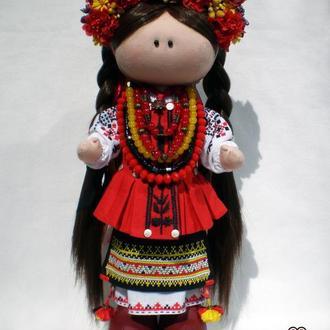 Кукла украиночка, кукла в украинском костюме