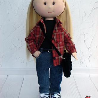 Кукла по фотографии, кукла текстильная.