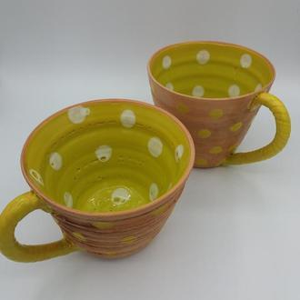 Чайная пара.Две чайные чашки.