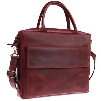 Кожаная сумка для документов А4 Business W, 2 цвета