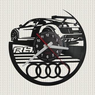 часы настенные автомобиль Ауди R8
