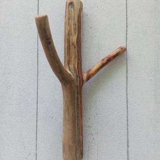 Гачки для одягу з дерева