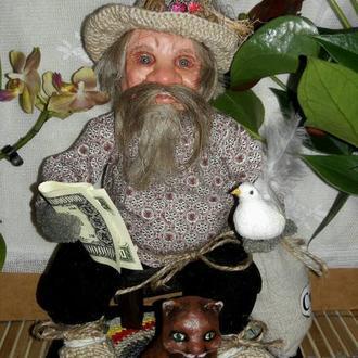 Дед Лука - оберег для дома