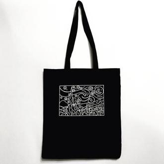 Эко-сумка шоппер «Звездная ночь»