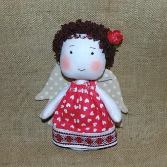 Интерьерная кукла Ангелочек в народном стиле
