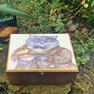 Чайная шкатулка