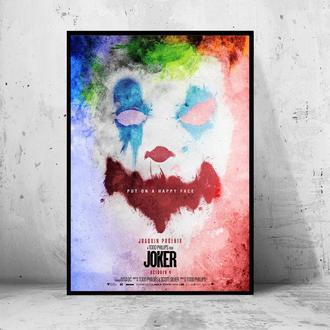"""Постер на ПВХ 3 мм. в раме """"Joker"""" 2019 (Джокер: Хоакин Феникс / Joaquin Phoenix) #12"""