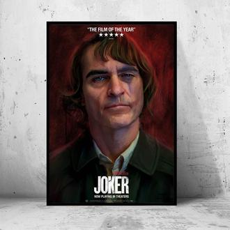 """Постер на ПВХ 3 мм. в раме """"Joker"""" 2019 (Джокер: Хоакин Феникс / Joaquin Phoenix) #13"""