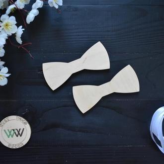 Деревянный галстук-бабочка, заготовка