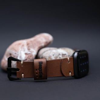 Ремешок из натуральной кожи на Apple Watch 38mm/40mm;42mm/44mm
