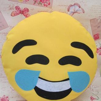 Подушка-смайлик Emoji #8 смех до слез