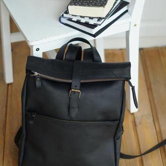 Рюкзак из натуральной кожи. Стильный городской кожаный рюкзак.