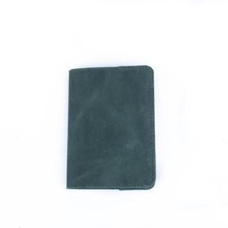 Обложка на паспорт из натуральной кожи, подарок из натуральной кожи