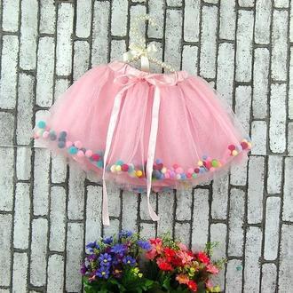 Детская юбка для девочки, нарядная юбка, подарок, утренник, праздник