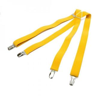 Вузькі жовті підтяжки Х подібні, Узкие желтые подтяжки Х образные