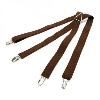 Вузькі коричневі підтяжки Х подібні, Узкие коричневые подтяжки Х образные