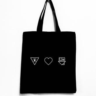 Эко-сумка шоппер «Neighborhood»