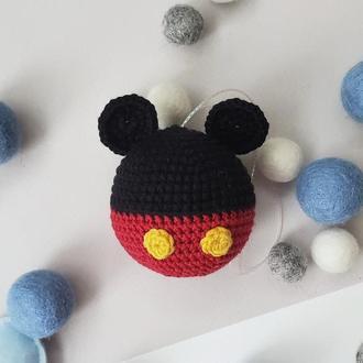 Елочный шар Микки Маус