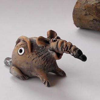 Свистулька крыса сувенирная