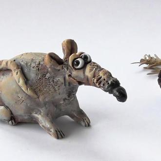 Свистулька крыса Щур Етно