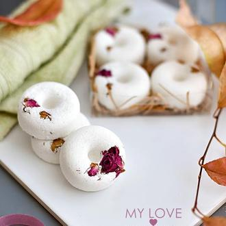 Подарочный набор бомбочек для ванны Naturals Пончики