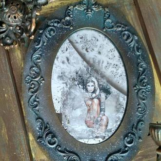 "Зеркало интерьерное ""Винтажное барокко"""