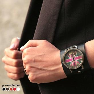 Кожаный ремешок для часов, код 5320
