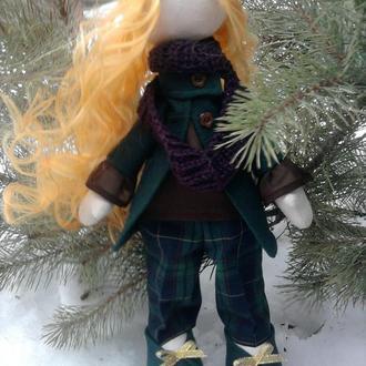 "текстильная кукла ""Эльза"""