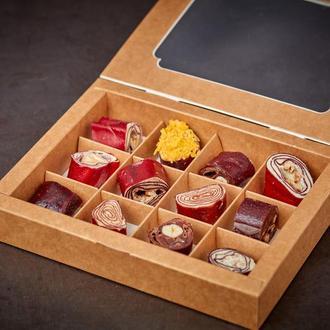 Конфеты: пастила из сока, 100% бельгийский шоколад, орехи