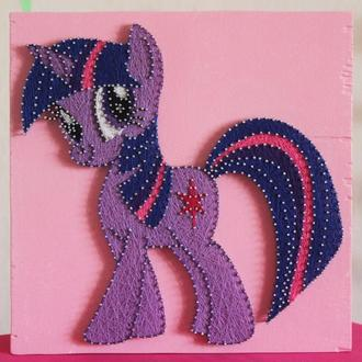 My little pony. Пони. Искорка. Пинки Пай. Стринг арт