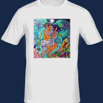 "футболка с принтом ""Шива и Шакти"""