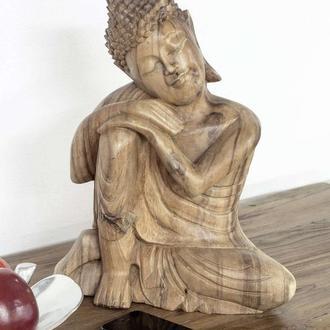 Деревянная резная фигура/ статуетка Будды